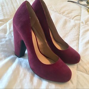 Me Too Wine Colored Heels